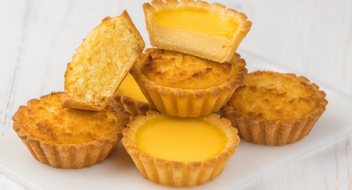 Coconut and Egg Tarts